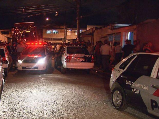 Polícia ainda investiga morte de MCs na Baixada Santista (Foto: Reprodução/TV Tribuna)