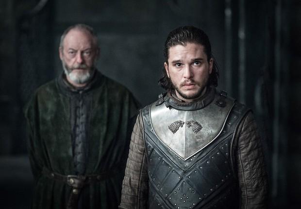 Jon Snow em cena da sétima temporada de Game of Thrones (Foto: Divulgação)