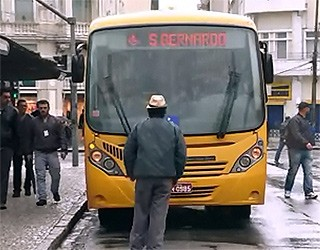 Paraná TV 1ª Edição Micro onibus (Foto: Reprodução/ RPC TV)