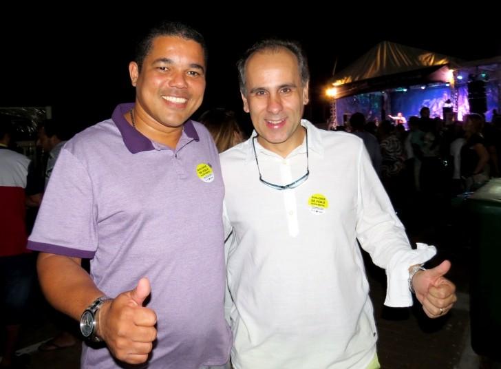 Ailton Júnior e Luís Eduardo Antunes