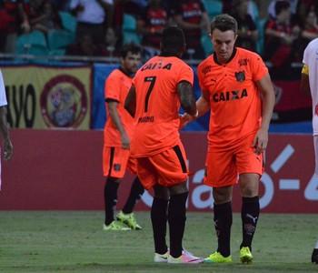Vitória x Náutico-RR na Arena Fonte Nova (Foto: Francisco Galvão / Divulgação / E.C. Vitória)