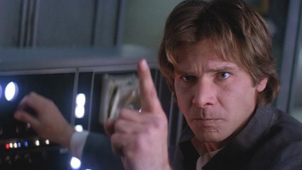 Fique tranquilo, Harrison Ford. Você sempre será o melhor Han Solo (Foto: Reprodução)