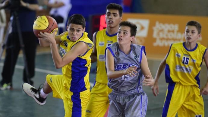Espírito Santo, Paraná, basquete, Jogos Escolares da Juventude, JEJs (Foto: William Lucas/Exemplus/COB)