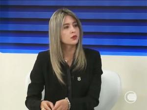 Delegada Anamelka (Foto: Reprodução/TV Clube)