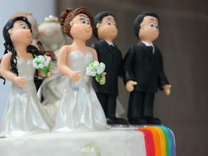 Casamento coletivo ocorreu na sede da OAB em Manaus (Foto: Luis Henrique/G1 AM)