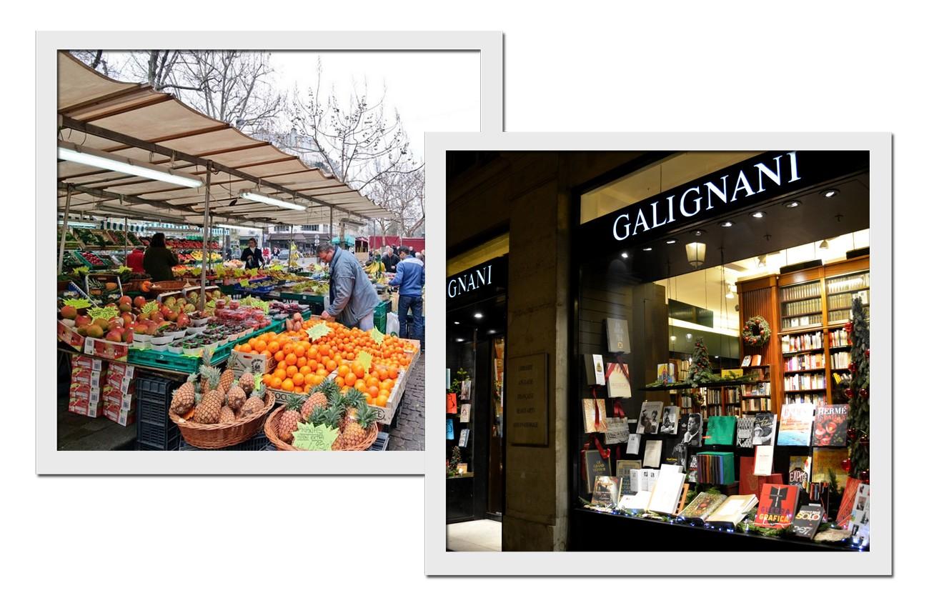 A feira e a livraria (Foto: Reprodução)
