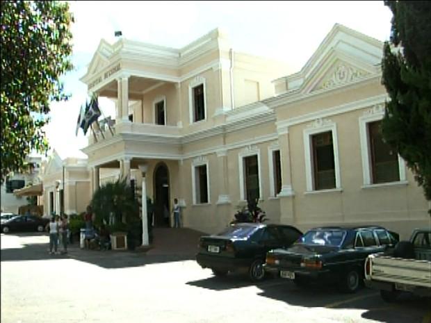 Hospital Regional em 1996 (Foto: Arquivo EPTV)