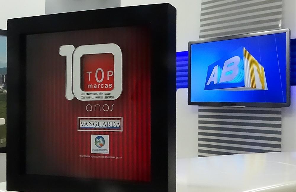 TV Asa Branca recebe pela décima vez o prêmio 'TOP Marcas' (Foto: Renata Araujo/ TV Asa Branca)