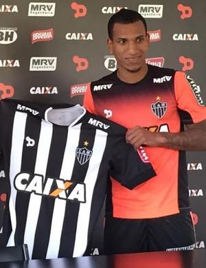 Atacante Otero, novo reforço do Atlético-MG (Foto: Fernando Martins Y Miguel)
