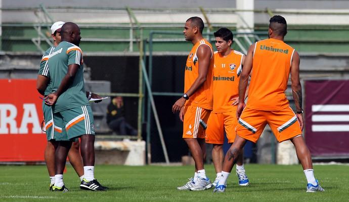 Flu laranjeiras (Foto: Nelson Perez / Fluminense)