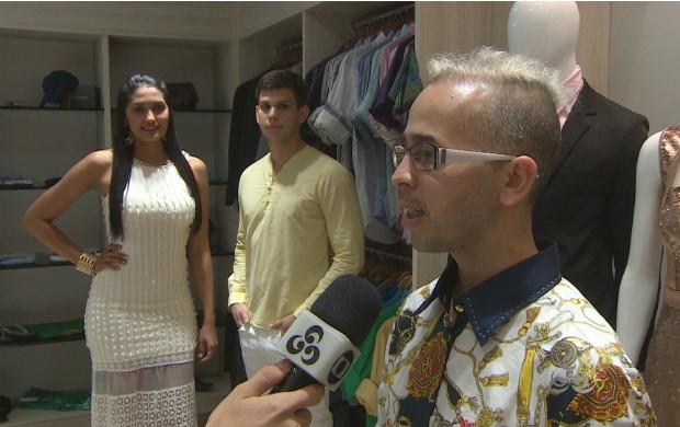 Consultor de moda Rubens Rocha dá dicas para compor o visual do réveillon (Foto: Amazônia em Revista)