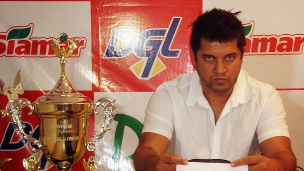 Sandro Goiano, novo gerente de futebol do América-SP (Foto: Marcos Lavezo/Globoesporte.com)
