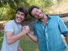Parceiros na TV, Guilherme Leicam e Nando Rodrigues entregam curiosidades