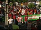 Grupos fazem manifestação contra o impeachment em cidades da Paraíba