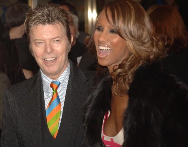 David Bowie e Iman (Foto: Brad Barket/Getty Images)