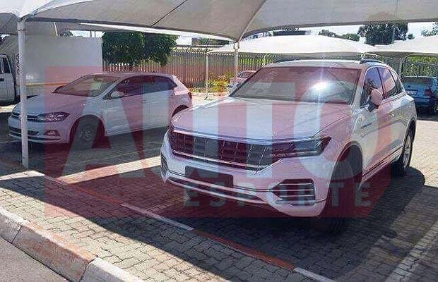 Novo SUV da Volkswagen é flagrado na África do Sul (Foto: Reprodução / Autoesporte)