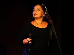 Sônia Nascimento faz show de lançamento do 1º disco (Foto: Divulgação)