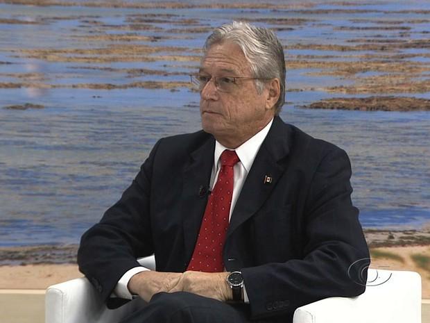Teotônio Vilela Filho, Governador do estado de Alagoas. (Foto: Reprodução/TV Gazeta)