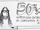 Exposição em Macapá faz viagem por criações do cartunista Ronaldo Rony