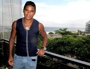 Almir jogador do Bangu (Foto: Gabriel Fricke / Globoesporte.com)