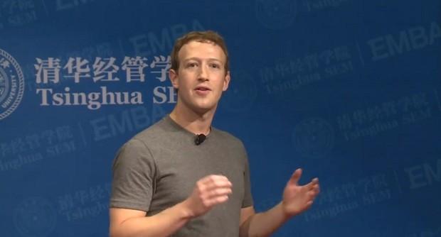 Mark Zuckerberg fez um discurso em mandarim (Foto: Reprodução/ Facebook)