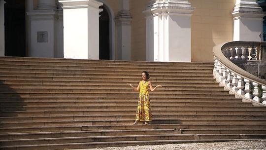 'Pé na Pista' faz turismo histórico em Ilhéus, no sul da Bahia