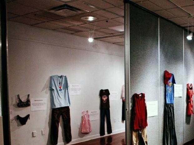 Uma das salas da exposição (Foto: Divulgação)