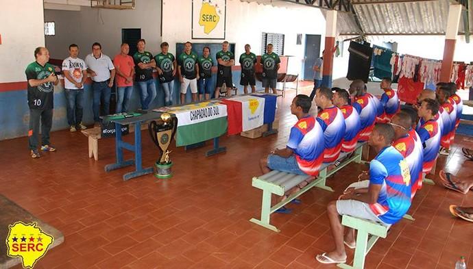 Elenco da Serc é apresentado oficialmente (Foto: Divulgação/Serc)