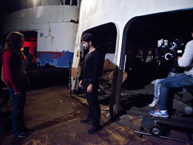 A dupla grava cena tensa el locação do Rio de Janeiro (Foto: Carol Caminha / Gshow)