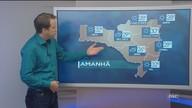 Veja como ficará o tempo em todas as regiões de SC neste sábado (21)