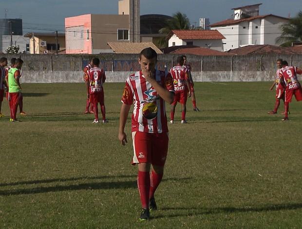 Auto Esporte, jogo-treino no Mangabeirão (Foto: Reprosução/TV Cabo Branco)