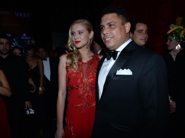 Ronaldo em baile de gala em São Paulo (Foto: Francisco Cepeda/AGNews)