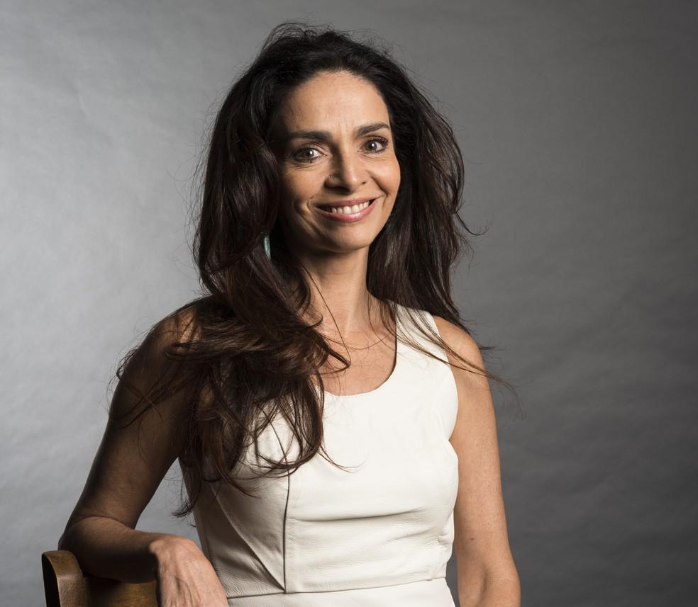 Claudia Ohana é participante do Super Chef Celebridades (Foto: Globo/ Estevam Avellar)