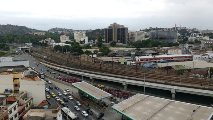 Marcha do Maraca - Flamengo (Foto: Raphael Zarko/ Globoesporte.com)