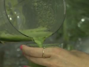 Além de nutritivo, suco detox é uma delícia (Foto: Tv Globo/Gshow)