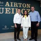 Ex-prefeito colombiano visita exposição  (Ares Soares/Unifor)