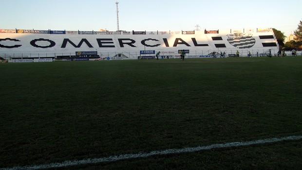 Comercial, estádio Palma Travassos (Foto: João Fagiolo)