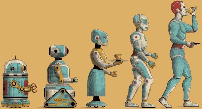 Image result for diferencas entre humanos e robôs
