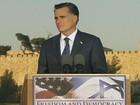 Candidato republicano Mitt Romney comete gafes em Israel e na Polônia