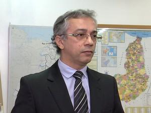 Edilson Correia, da CGU, diz que valor ultrapassa os R$ 2,3 milhões em desvios (Foto: Reprodução/TV Clube)