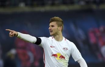 Leipzig vence com pênalti polêmico e retoma liderança do Bayern no Alemão