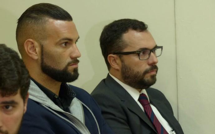Weverton Mário Bittencourt Atlético-PR (Foto: Monique Silva)