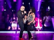 Willian San'Per arrasa e Claudia Leitte escolhe cantor para seguir na competição (Foto: Isabella Pinheiro/ Gshow)