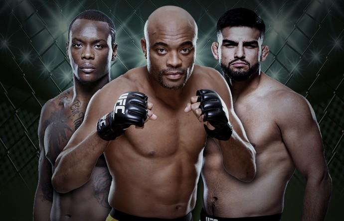 Carrossel-UFC-Anderson-Gastelum-Ovince (Foto: editoria de arte)