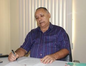 João Dalmo, diretor técnico da Federação Rondoniense de Futebol (Foto: Hugo Crippa/GLOBOESPORTE.COM)