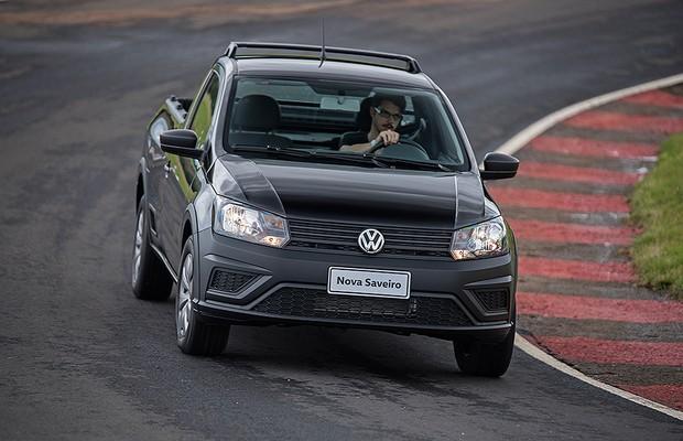 Volkswagen Saveiro 2017 (Foto: Bruno Guerreiro/Autoesporte)