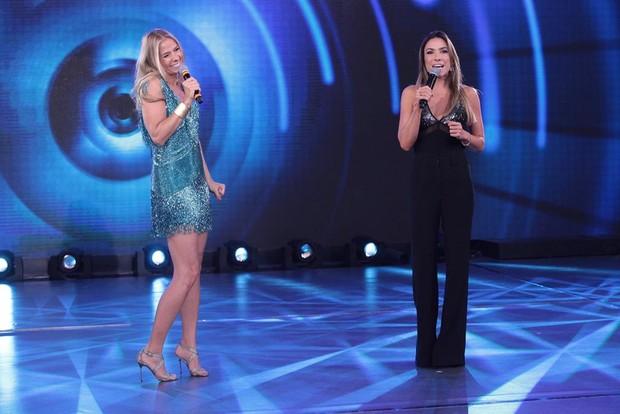 Adriane Galisteu no programa Máquina da Fama com Patricia Abravanel (Foto: Leonardo Nones/SBT)