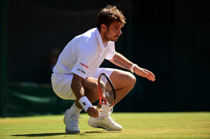 tênis Wawrinka, Wimbledon (Foto: Getty Images)