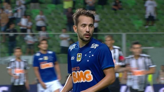 Éverton Ribeiro, meia do Cruzeiro - Final da Copa do Brasil (Foto: Reprodução/TV Globo Minas)