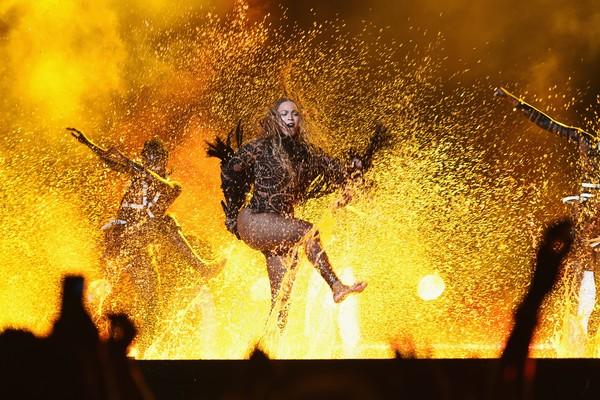 Beyoncé 'incendeia' o BET Awards, em Los Angeles